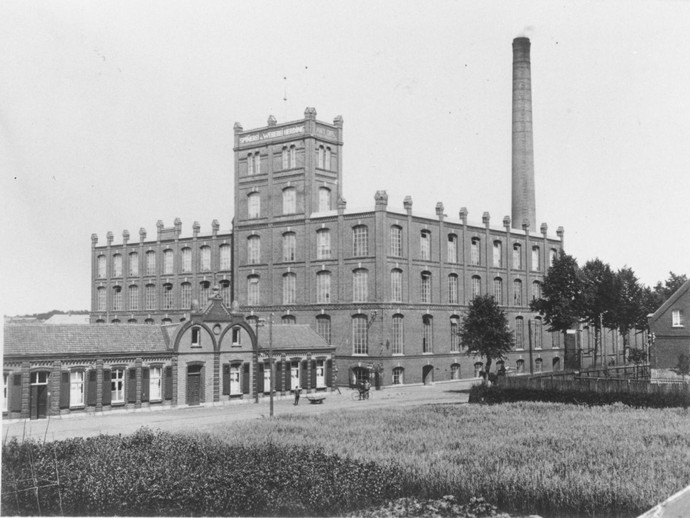 The Herding spinning mill in the 1930s